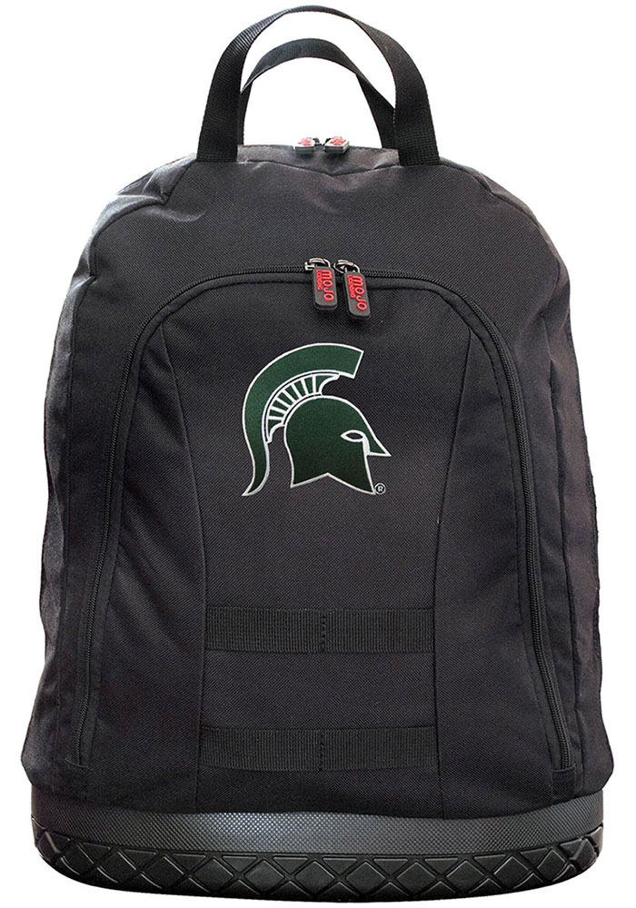 Michigan State Spartans Black 18 Tool Backpack - Image 1
