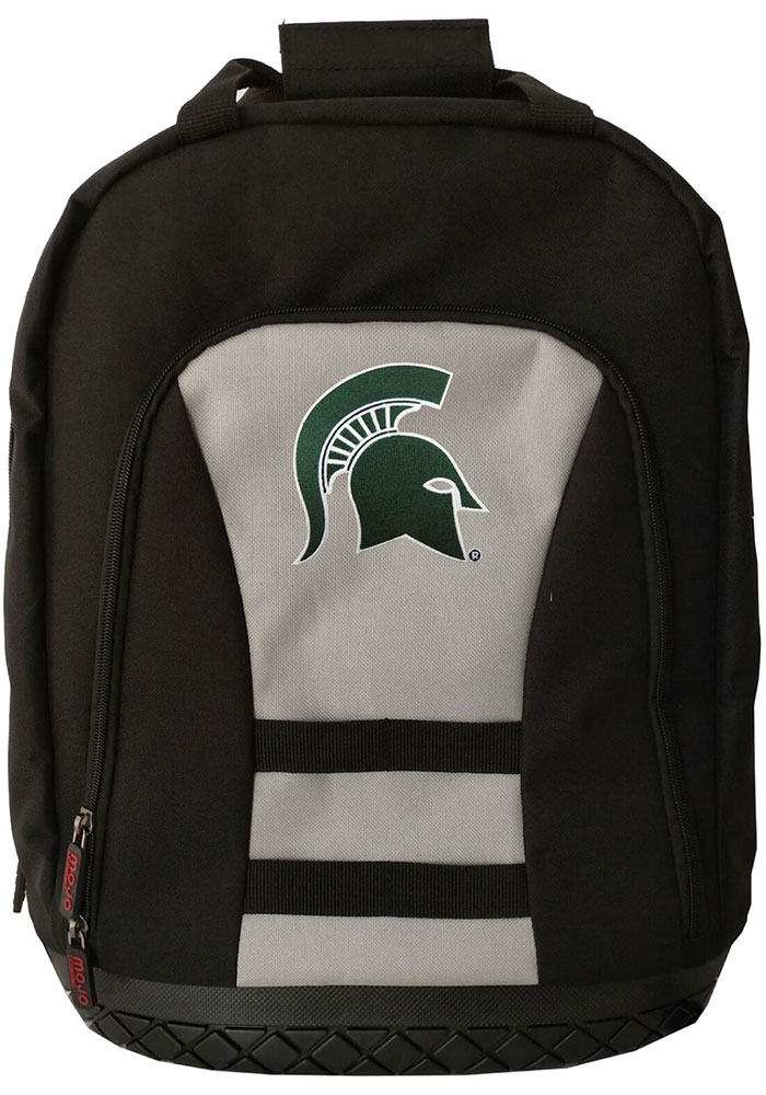 Michigan State Spartans Grey 18 Tool Backpack - Image 1