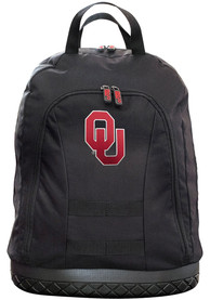 Oklahoma Sooners 18 Tool Backpack - Black