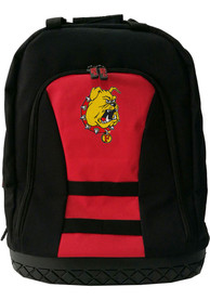 Ferris State Bulldogs 18 Tool Backpack - Red