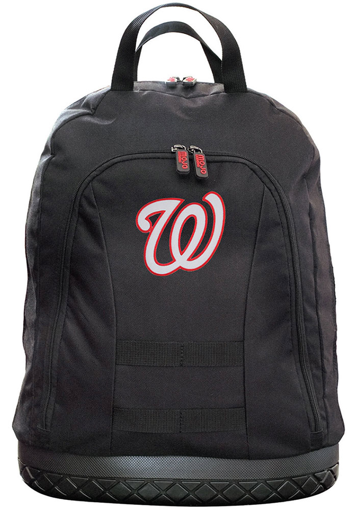 Washington Nationals Black 18 Tool Backpack - Image 1