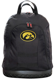 Iowa Hawkeyes 18 Tool Backpack - Black