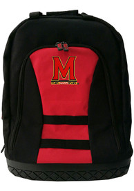 Maryland Terrapins 18 Tool Backpack - Red