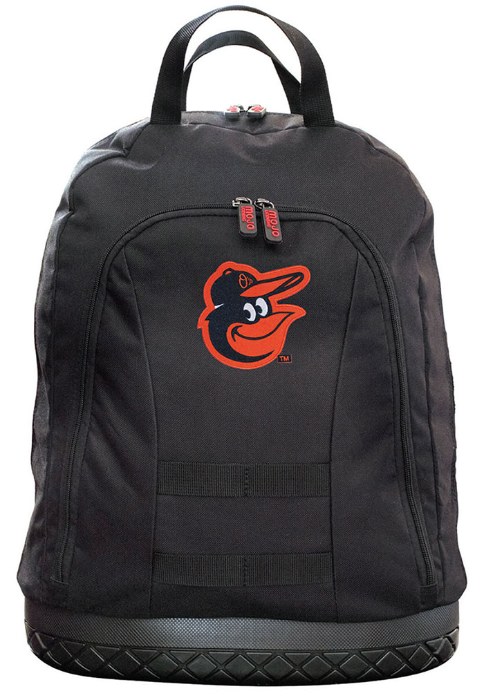 Baltimore Orioles Black 18 Tool Backpack - Image 1