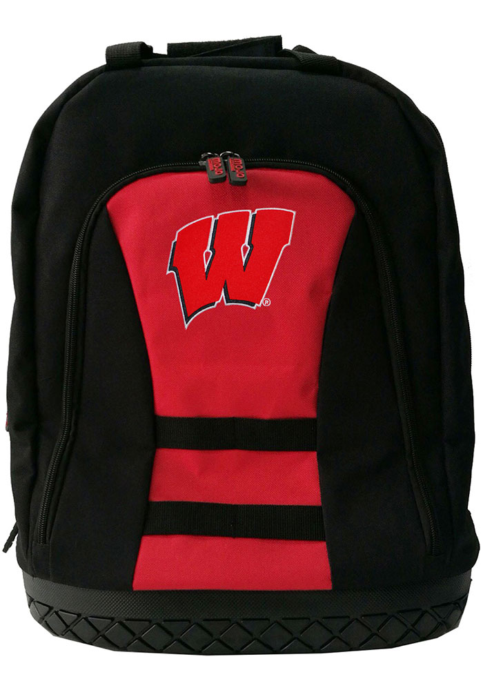 Wisconsin Badgers Red 18 Tool Backpack - Image 1