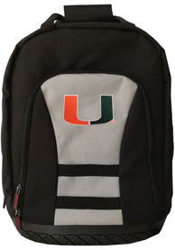 Miami Hurricanes 18 Tool Backpack - Grey