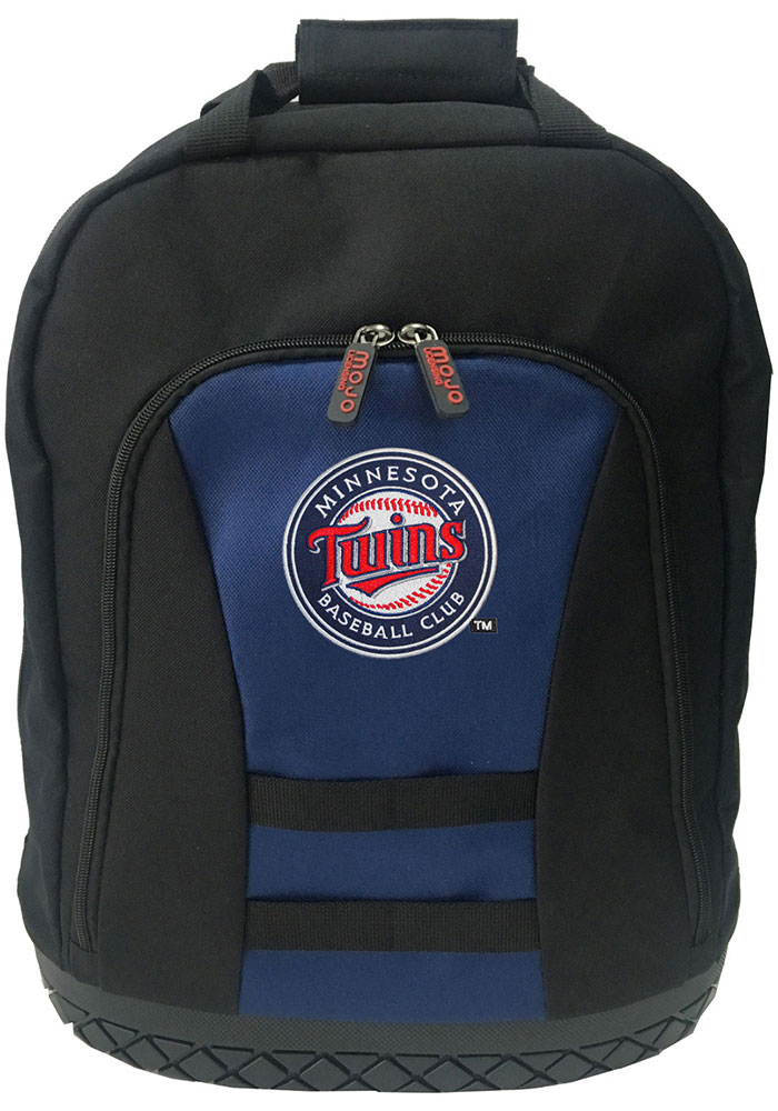 Minnesota Twins Navy Blue 18 Tool Backpack - Image 1