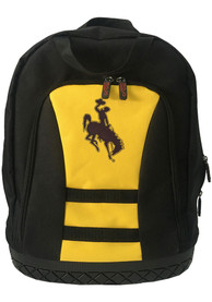 Wyoming Cowboys 18 Tool Backpack - Yellow