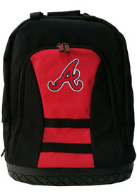 Atlanta Braves 18 Tool Backpack - Red
