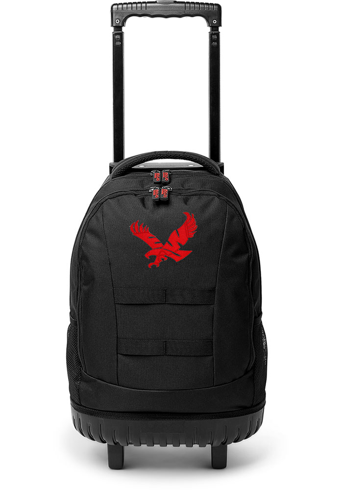 Eastern Washington Eagles 18 Wheeled Tool Backpack - Red