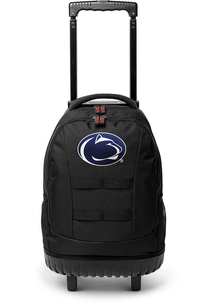 Penn State Nittany Lions Navy Blue 18 Wheeled Tool Backpack - Image 1