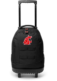 Washington State Cougars 18 Wheeled Tool Backpack - Red
