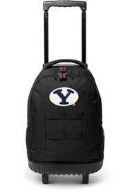 BYU Cougars 18 Wheeled Tool Backpack - Navy Blue