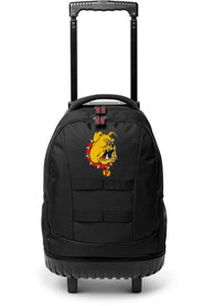 Ferris State Bulldogs 18 Wheeled Tool Backpack - Red