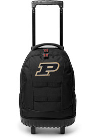Purdue Boilermakers 18 Wheeled Tool Backpack - Black