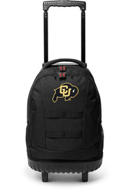 Colorado Buffaloes 18 Wheeled Tool Backpack - Black