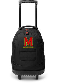 Maryland Terrapins 18 Wheeled Tool Backpack - Red