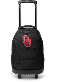Oklahoma Sooners 18 Wheeled Tool Backpack - Red