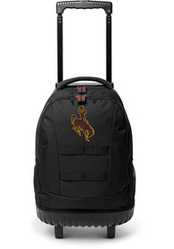 Wyoming Cowboys 18 Wheeled Tool Backpack - Brown