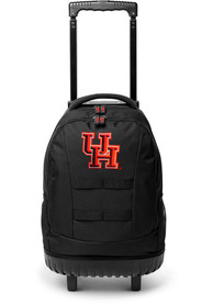 Houston Cougars 18 Wheeled Tool Backpack - Red