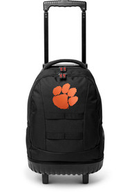 Clemson Tigers 18 Wheeled Tool Backpack - Orange
