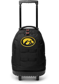 Iowa Hawkeyes 18 Wheeled Tool Backpack - Black