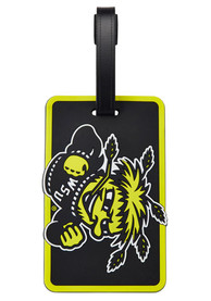 Wichita State Shockers Rubber Luggage Tag - Black