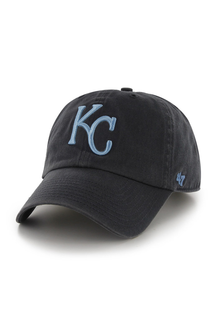 Kansas City Royals Navy Blue Clean Up Youth Adjustable Hat - Image 1