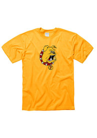 Ferris State Bulldogs Gold Big Logo Tee
