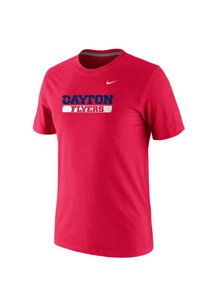 Nike Dayton Flyers Red Pill Short Sleeve T Shirt - Image 1