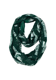 Michigan State Spartans Sheer Infinity Womens Scarf
