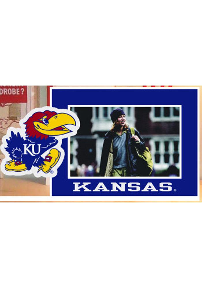 Kansas Jayhawks Standee Picture Frame - Image 1