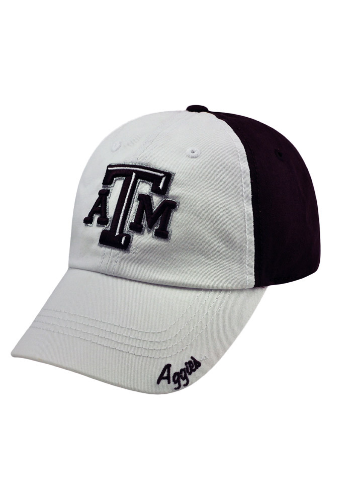 Top of the World Texas A&M Aggies Maroon Moxie Womens Adjustable Hat - Image 3