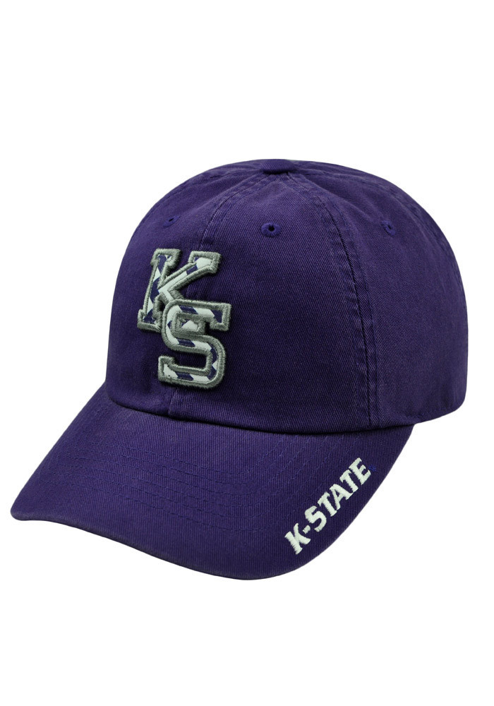 Top of the World K-State Wildcats Purple Chevron Crew Womens Adjustable Hat - Image 3