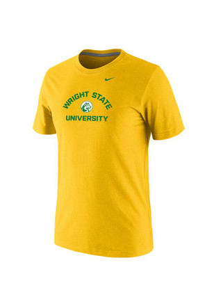 Nike Wright State Raiders Mens Gold Pill Tee