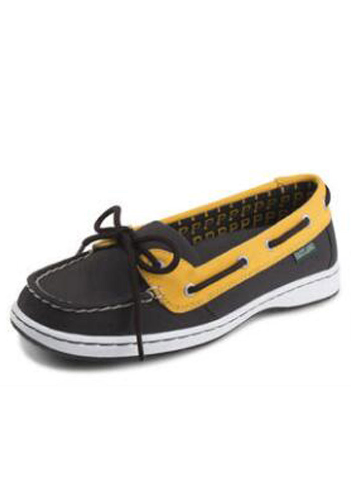 Pittsburgh Pirates Black Sunset Womens Shoes - Image 1