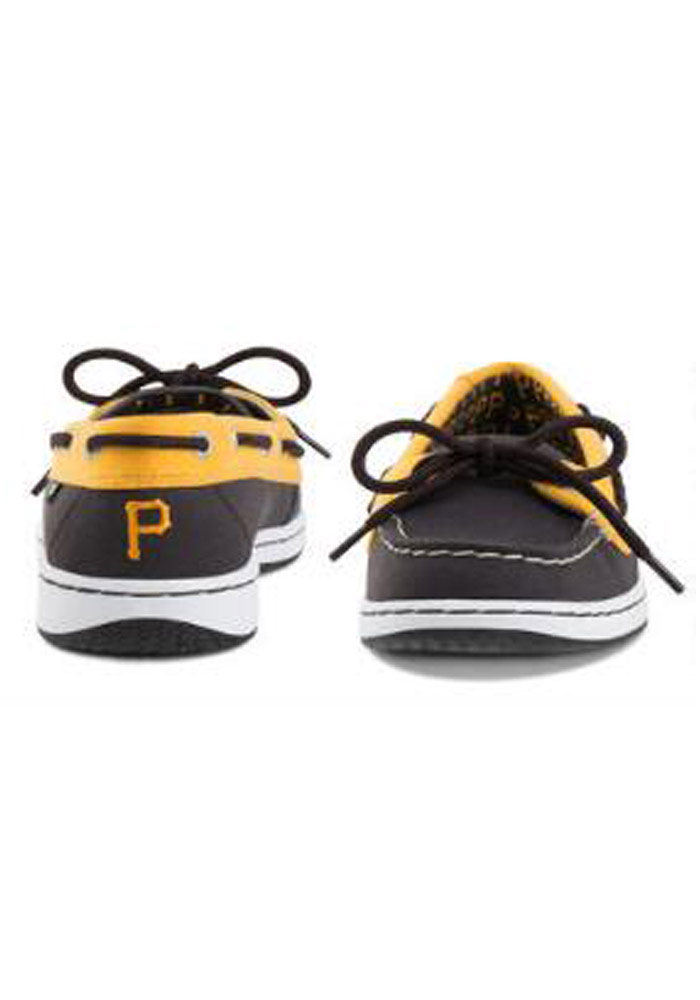 Pittsburgh Pirates Black Sunset Womens Shoes - Image 2