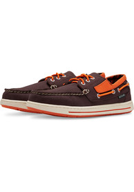 Baltimore Orioles Adventure Canvas Boat Shoes - Black
