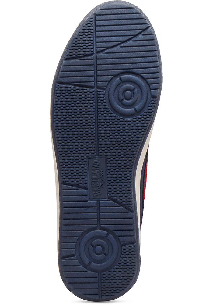 Boston Red Sox Navy Blue Adventure Canvas Boat Mens Shoes - Image 3