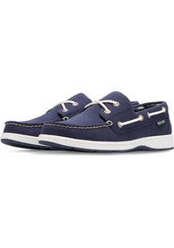 Chicago White Sox Womens Solstice Canvas Boat Shoes - Navy Blue