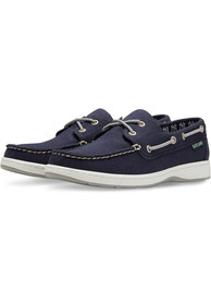 New York Yankees Womens Solstice Canvas Boat Shoes - Navy Blue