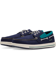 Seattle Mariners Adventure Canvas Boat Shoes - Navy Blue