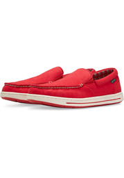 St Louis Cardinals Surf Canvas Boat Shoes - Red