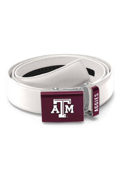 Texas A&M Aggies Leather Mission Mens Belt