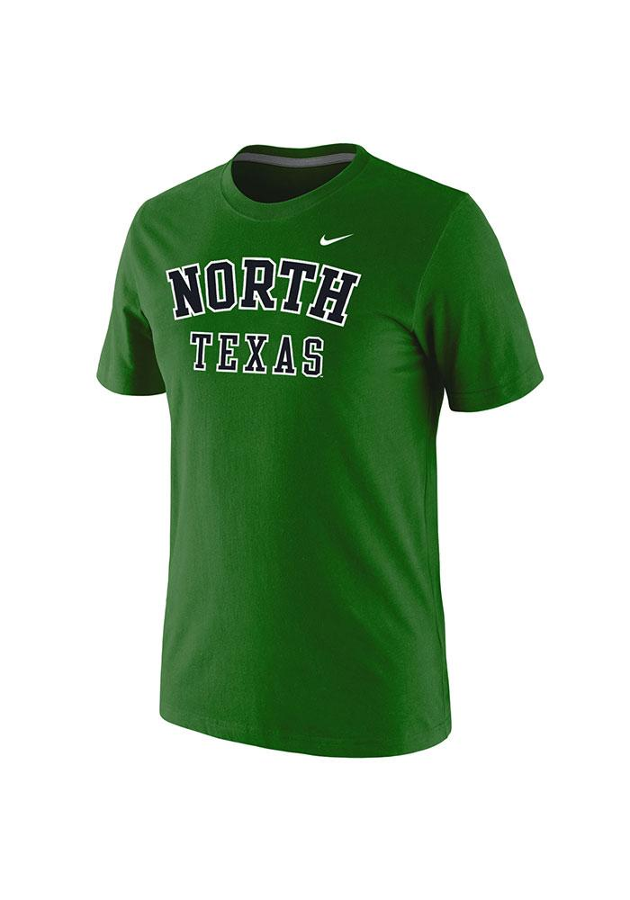 Nike North Texas Mean Green Green Arch Short Sleeve T Shirt - Image 1