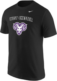 Nike West Chester Golden Rams Black Shady Arch Logo Tee