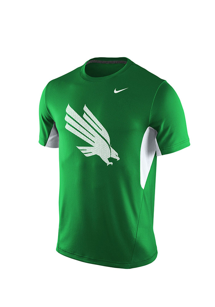 Nike UNT Mens Green Vapor Dri-FIT Performance Tee 19860241