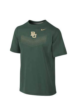 Nike Baylor Youth Grey Legend Performance T-Shirt