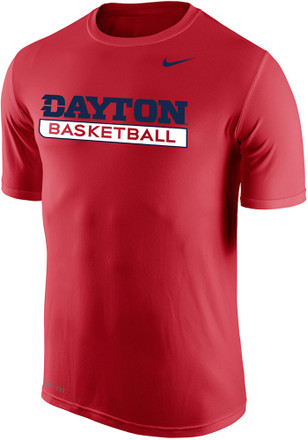 Nike Dayton Flyers Mens Red Legend Tee