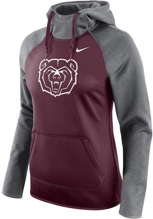 Missouri State Bears Womens Maroon All Time Hoodie